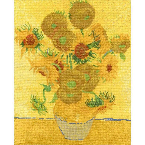 Van Gogh's Sunflowers - NEEDLEWORK KITS