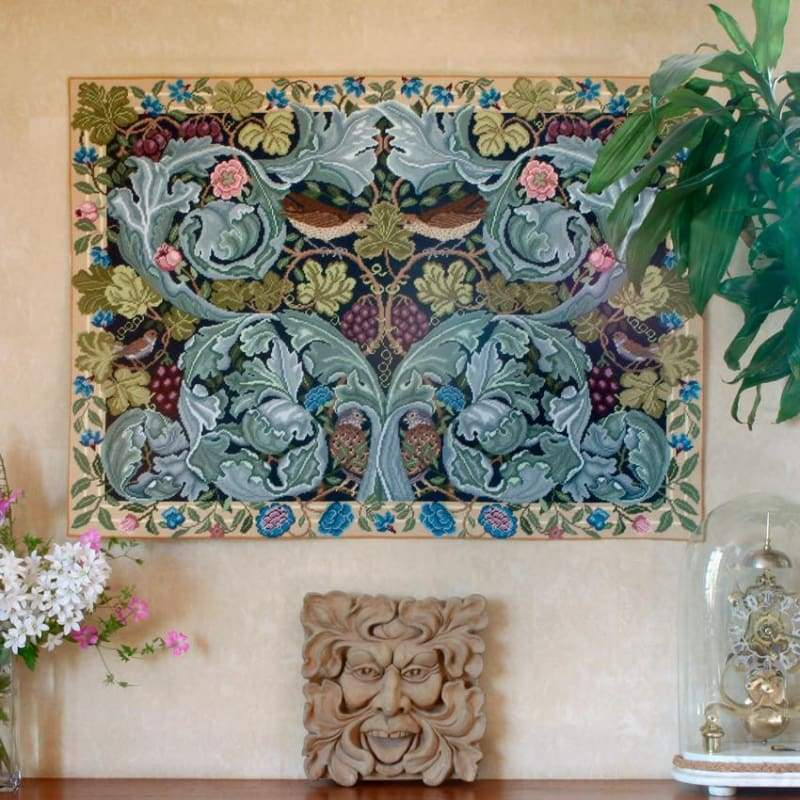Acanthus And Vine - Tapestry And Needlepoint