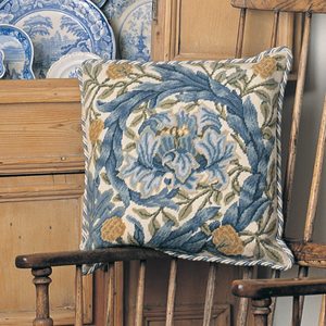 African Marigold Collection - Cushion - Tapestry and Needlepoint