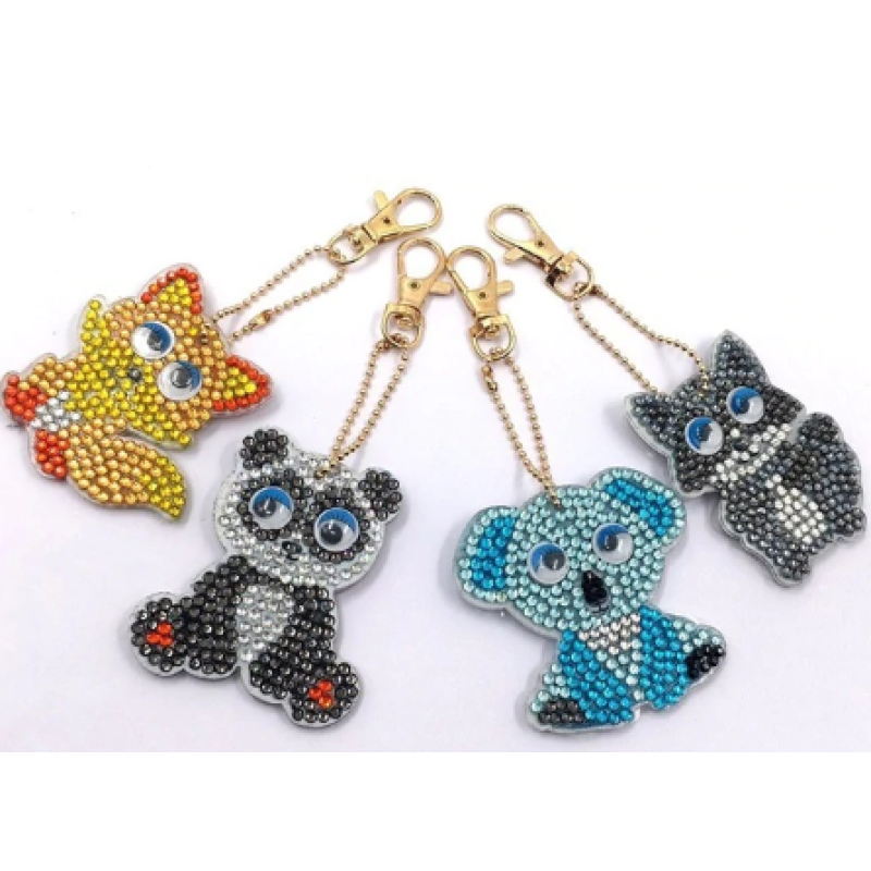 Animal Keychain - NEEDLEWORK KITS