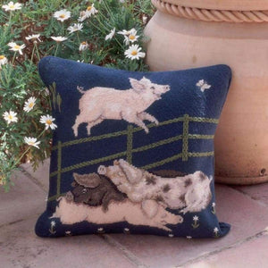 Pigs - Tapestry And Needlepoint