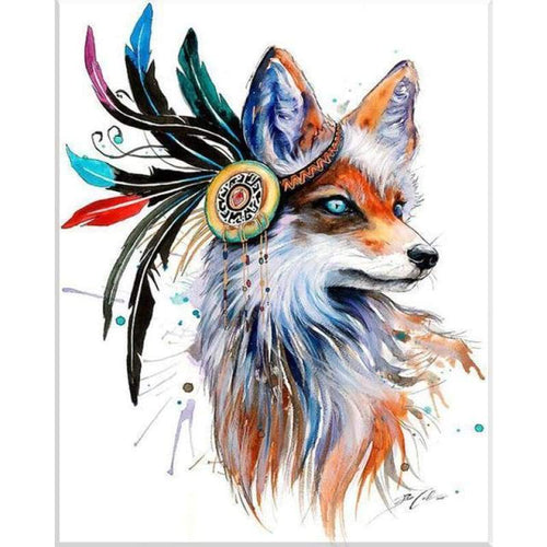 5D Diamond Painting Kits Cool Bedazzled Dream Fox - 3