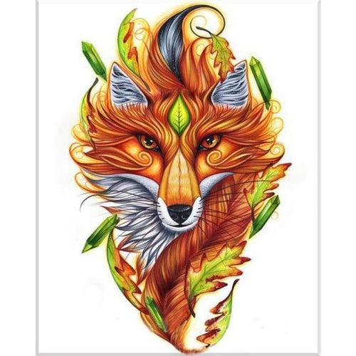 5D Diamond Painting Kits Cool Bedazzled Dream Fox - 4