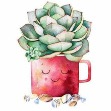 Load image into Gallery viewer, Full Drill - 5D DIY Diamond Painting Kits Dream Cartoon Plant Cactus Cup