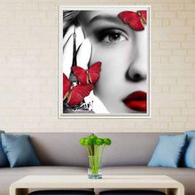 Load image into Gallery viewer, Full Drill - 5D DIY Diamond Painting Kits Sexy Beauty Butterfly - NEEDLEWORK KITS