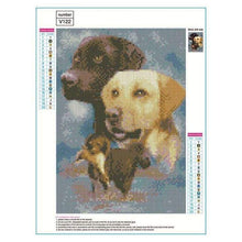 Load image into Gallery viewer, 5D DIY Diamond Painting Kits Cartoon Pet Dogs - 3