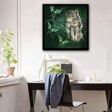 Load image into Gallery viewer, 5D DIY Diamond Painting Kits Cartoon Family Wolf