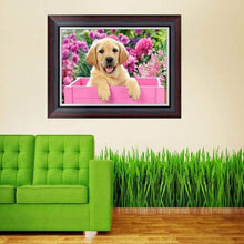Load image into Gallery viewer, Full Drill - 5D DIY Diamond Painting Kits Cuteb Pet Dog - NEEDLEWORK KITS