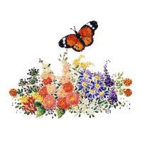 Butterfly Garden #1 - NEEDLEWORK KITS