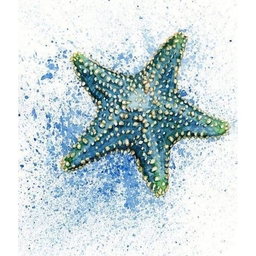5D DIY Diamond Painting Kits Cartoon Green Starfish