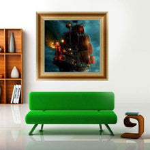 Load image into Gallery viewer, 5D DIY Diamond Painting Kits Cartoon Ghost Ship