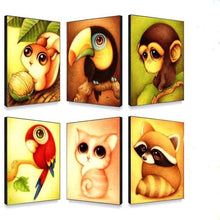 Load image into Gallery viewer, 5D DIY Diamond Painting Kits Cartoon Parrot - 3