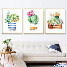 Load image into Gallery viewer, 5D DIY Diamond Painting Kits Cartoon Plant Cactus - 3