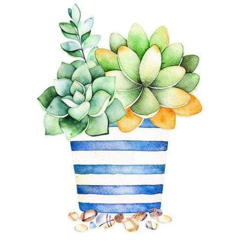 5D DIY Diamond Painting Kits Cartoon Plant Cactus - 3