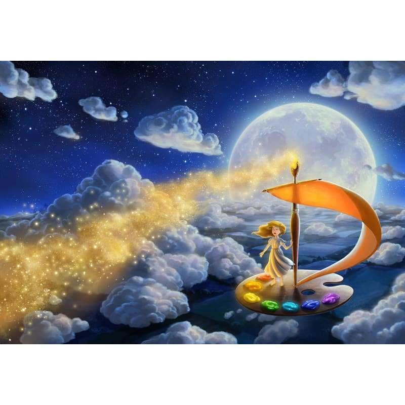 5D DIY Diamond Painting Kits Cartoon Sky Kids Magic - Z5