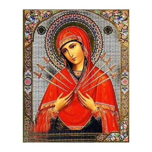 5D DIY Diamond Painting Kits Heavenly Catholicism Religious Figure - 3