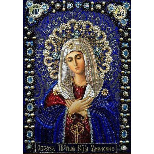 5D DIY Diamond Painting Kits Heavenly Catholicism Religious - 3
