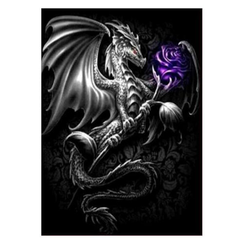 5D DIY Diamond Painting Kits Dream Magic Dragon - 3