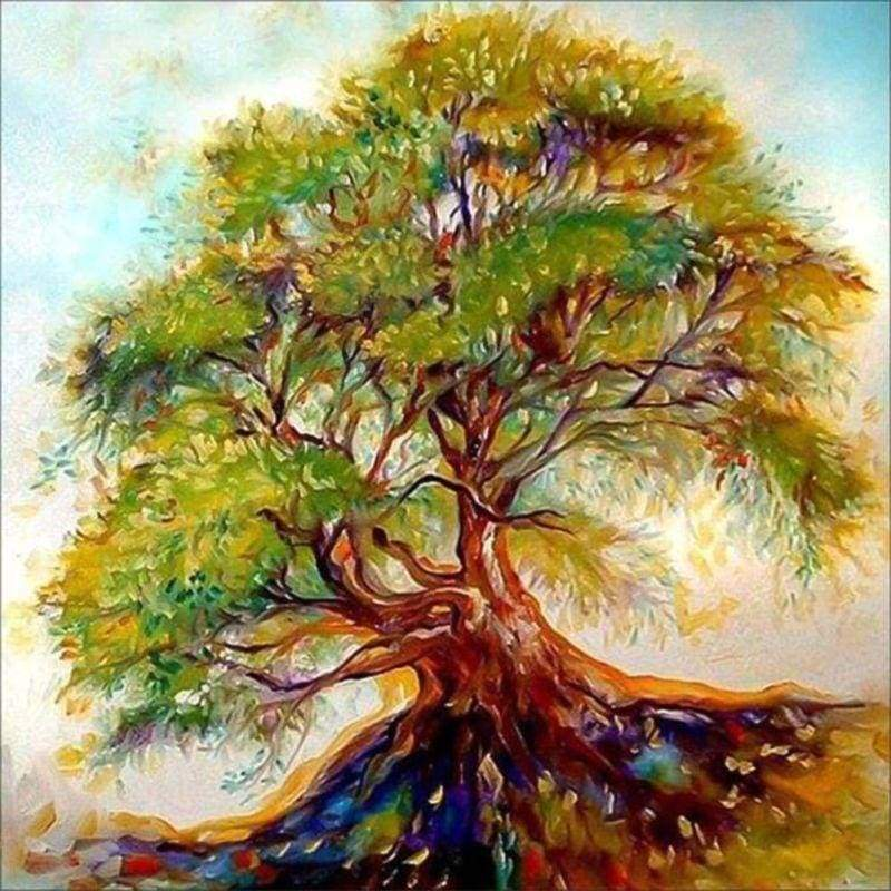 5D DIY Diamond Painting Kits Cartoon Dream Tree