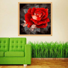 Load image into Gallery viewer, Full Drill - 5D DIY Diamond Painting Kits Special Pretty Rose - NEEDLEWORK KITS