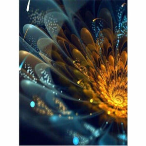 Full Drill - 5D DIY Diamond Painting Kits Colorful Abstract Flower - NEEDLEWORK KITS