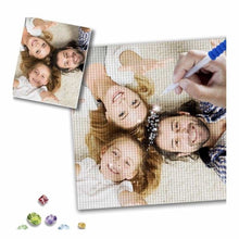 Load image into Gallery viewer, Custom Diamond Painting - NEEDLEWORK KITS
