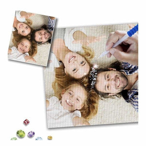 Custom Diamond Painting - NEEDLEWORK KITS