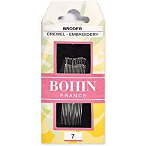 Bohin Embroidery Needle Size 7 - Accessories