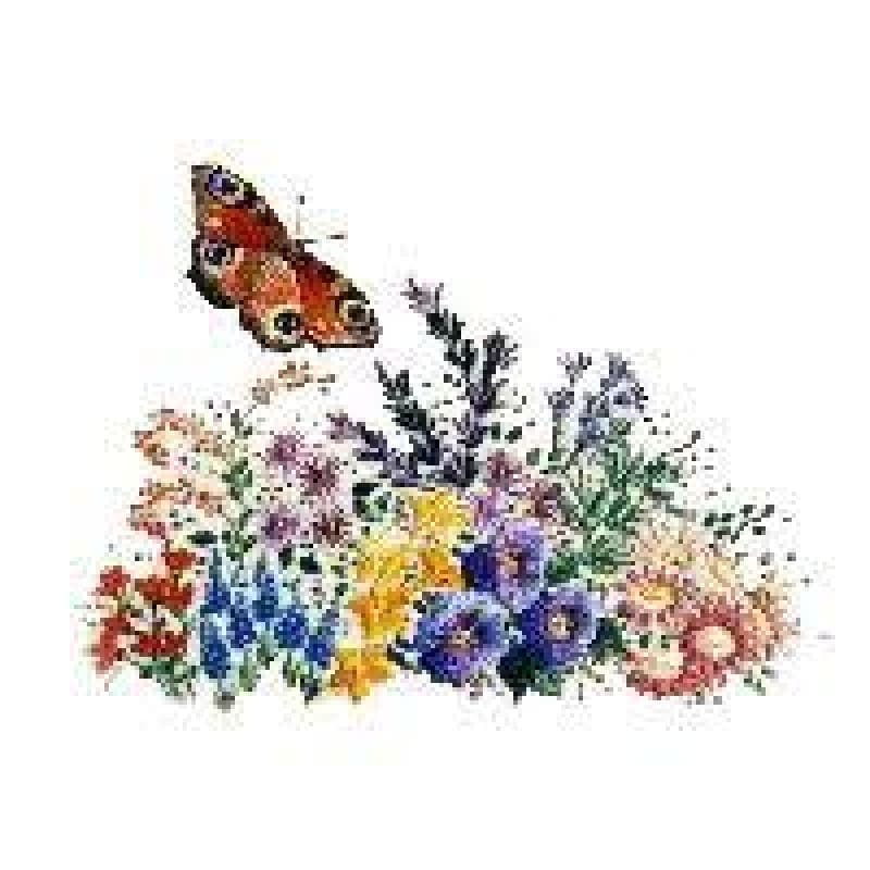 Butterfly Garden #2 - NEEDLEWORK KITS
