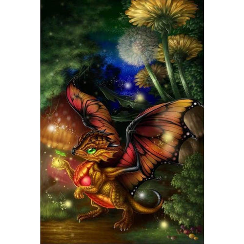 5D DIY Diamond Painting Kits Dream Magical Dragon Baby - Z5