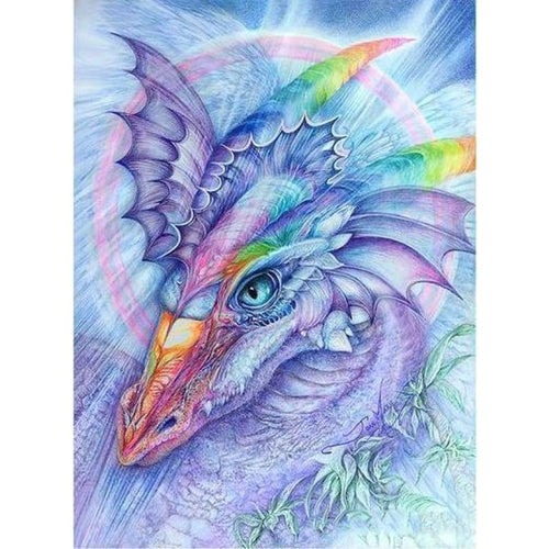 5D DIY Diamond Painting Kits Fantastic Dream Rainbow Dragon - Z3