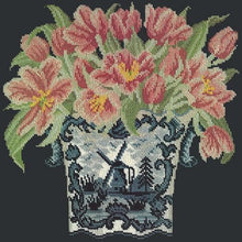 Load image into Gallery viewer, Dutch Tulips - NEEDLEWORK KITS
