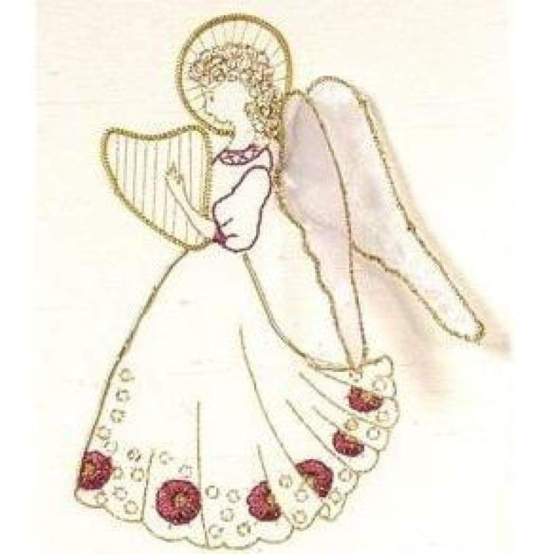 Red Angel - Embroidery