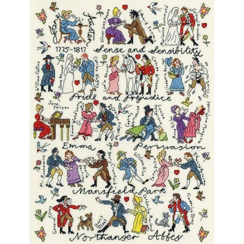 Jane Austen - NEEDLEWORK KITS