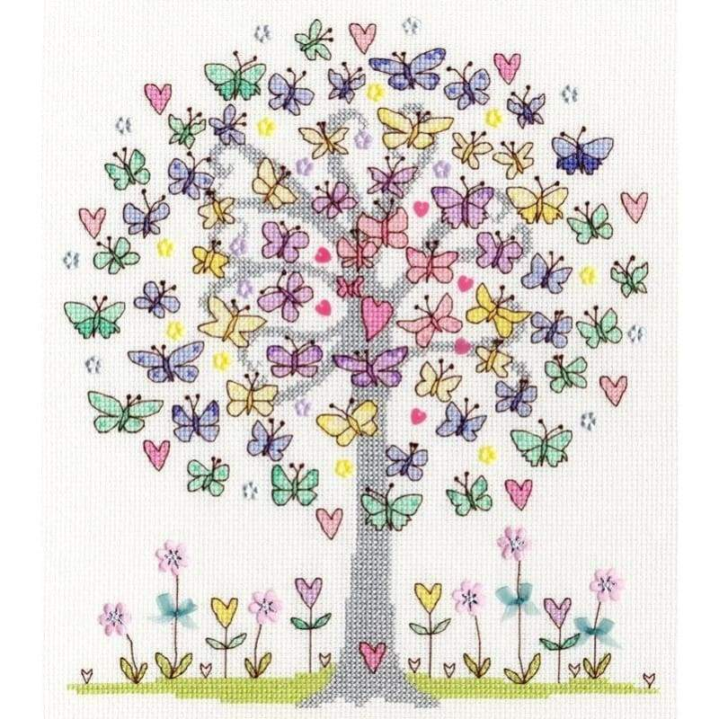 Love Spring - Cross Stitch
