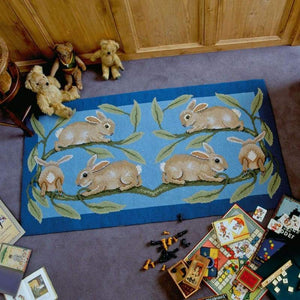 Rabbits - Tapestry And Needlepoint