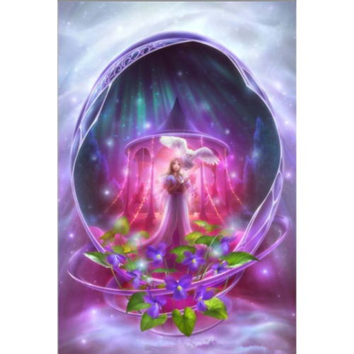 Full Drill - 5D DIY Diamond Painting Kits Fantasy Dream Princess Mystical Cave - NEEDLEWORK KITS