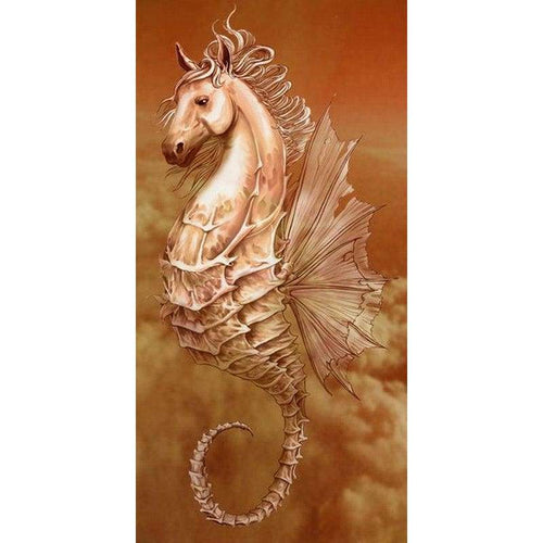 5D DIY Diamond Painting Kits Fantasy Seahorse in the Sky - 9