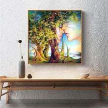 Load image into Gallery viewer, 5D DIY Diamond Painting Kits Cartoon Fantasy Romantic Trees Lover