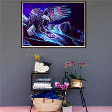 Load image into Gallery viewer, 5D DIY Diamond Painting Kits Cartoon Fantasy Super Cool Eagle - 444