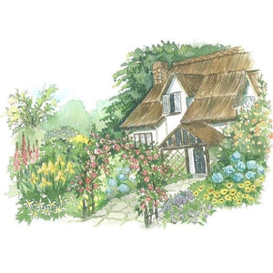 Rose Cottage - NEEDLEWORK KITS