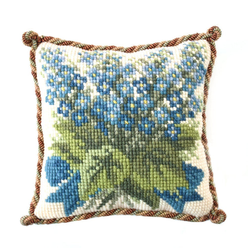 Forget-Me-Not Mini Kit Needlepoint Kit Elizabeth Bradley Design