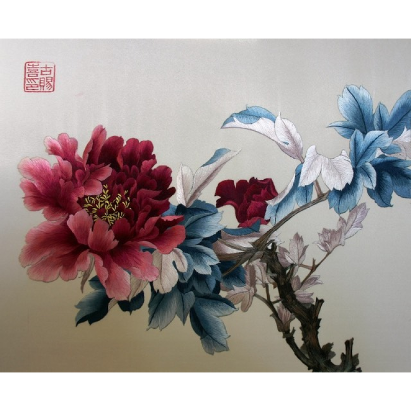 Peony - Embroidery