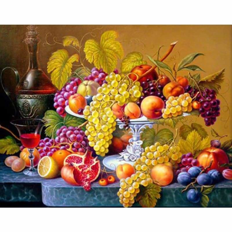 Fruit Platter - NEEDLEWORK KITS