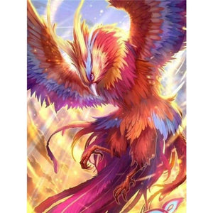 5D DIY Diamond Painting Kits Cartoon Dream Phoenix - 3