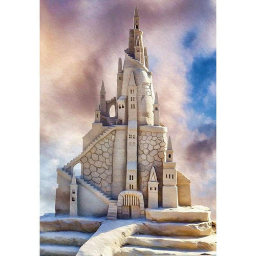 Full Drill - 5D DIY Diamond Painting Kits Fantasy Grand Castle - NEEDLEWORK KITS