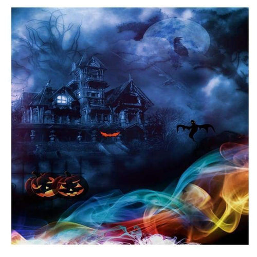 5D DIY Diamond Painting Kits Halloween Horror Castle