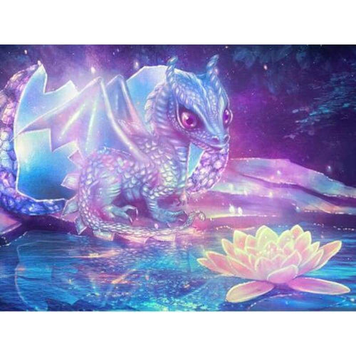 5D DIY Diamond Painting Kits Fantasy Dream Dragon - 4