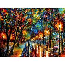 Load image into Gallery viewer, Full Drill - 5D DIY Diamond Painting Kits Street After Rain - NEEDLEWORK KITS