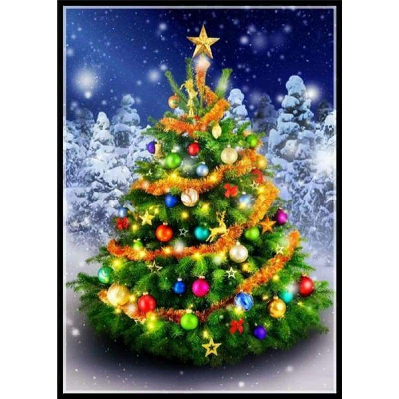 Full Drill - 5D DIY Diamond Painting Kits Winter Christmas Tree - NEEDLEWORK KITS